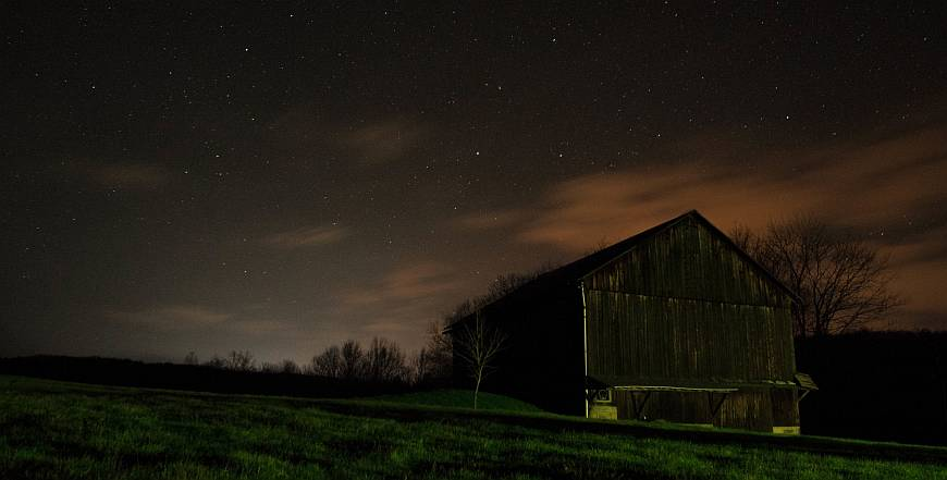 At Night (Photo by Kyle Richner)