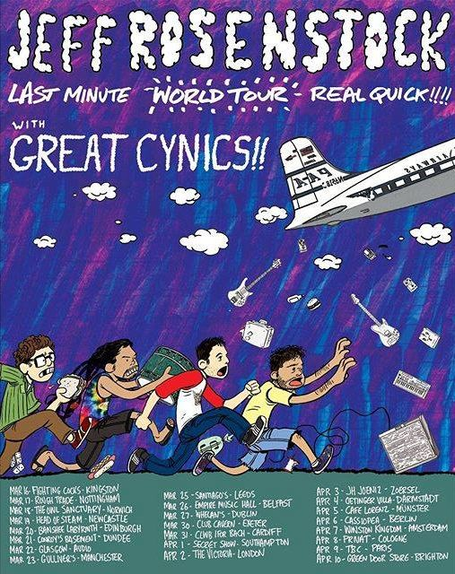 Jeff Rosenstock Tour